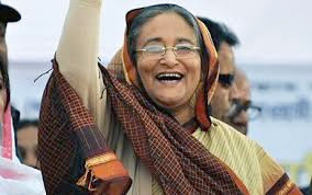 Sheikh Hasina run the poll-time government