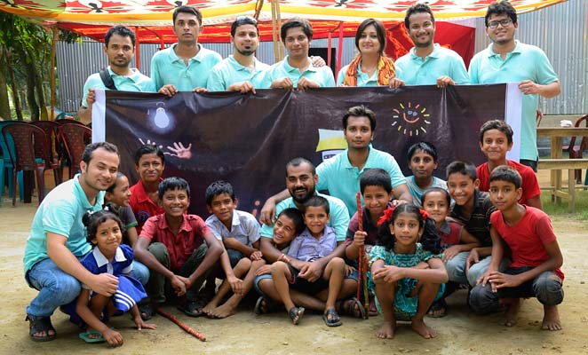 'Light of Hope' bringing lights to deprived children by e-education
