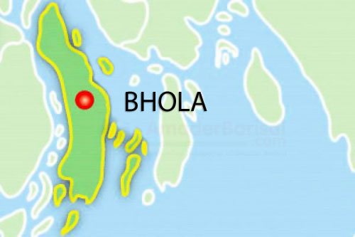 School boy killed in Bhola road crash