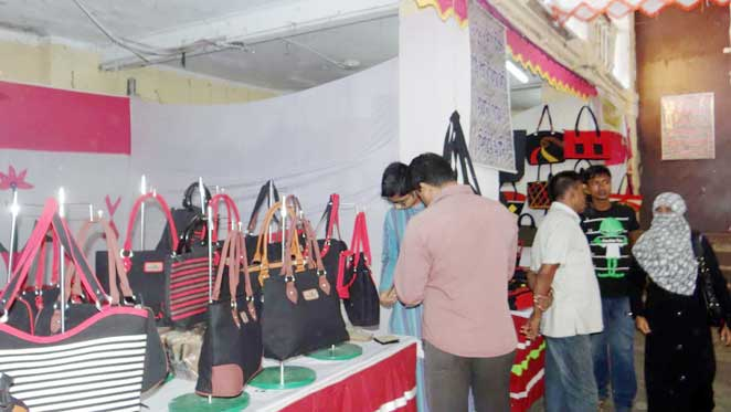 Three-day business fair by Jute Diversification Promotion Center ended in Barisal