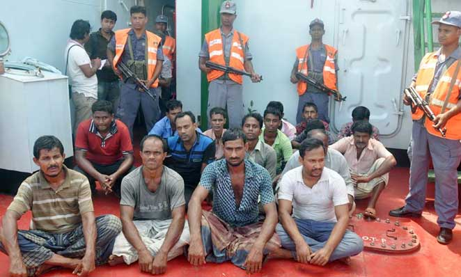 Coast Guard arrested 15