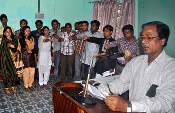 বিএম কলেজের অবৈধ অস্থায়ী 'কর্মপরিষদ'র এক বছর