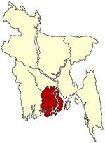 বরিশাল মানচিত্র
