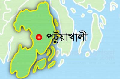 patuakhali-map পটুয়াখালী মানচিত্র