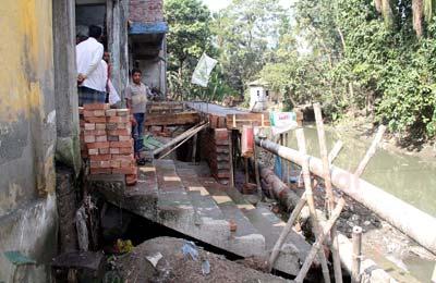 sagardi-canal-barisal সাগরদী খাল দখল
