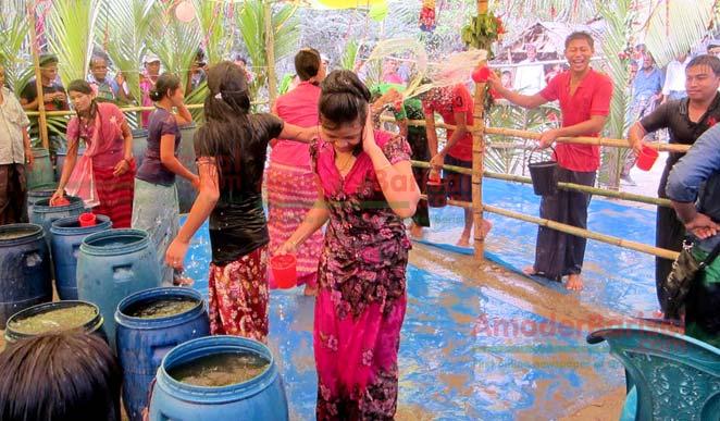 'Sangrai' festival of Rakhain community starts in Kuakata