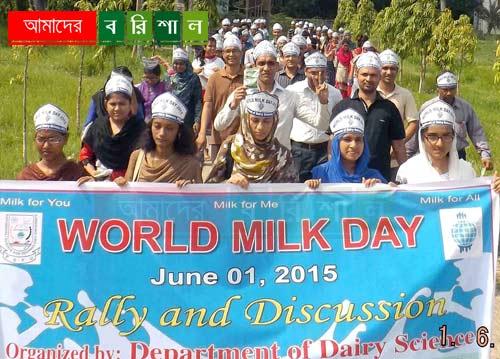 babuganj-pstu-world-milk-day-rally-student-dairy বিশ্ব দুগ্ধ দিবসে পবিপ্রবিতে সমাবেশ ও র্যালী