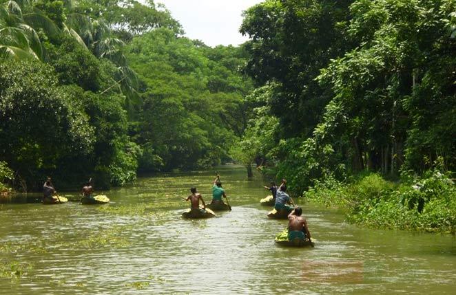 barisal-backwater-tour-bangladesh বরিশালের খালগুলোর 'ব্যাকওয়াটার' হয়ে ওঠার গল্প