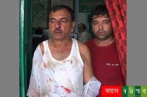ঝালকাঠি বিসিক কার্যালয়ে ব্যবসায়ীদের হামলা-পাল্টা হামলা,আহত ২