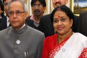 ভারতের রাষ্ট্রপতি প্রণব মুখার্জির স্ত্রী মারা গেছেন