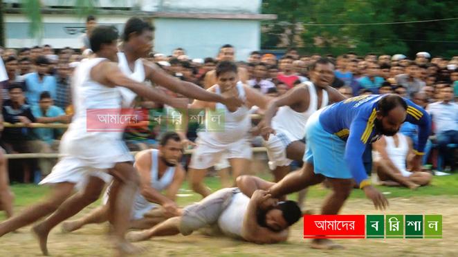 বোরহানউদ্দিনে কাবাডি খেলার উদ্বোধন করলেন এমপি মুকুল