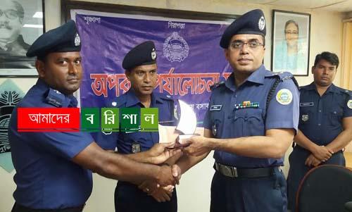 বরগুনা জেলার শ্রেষ্ঠ পুলিশ অফিসার তালতলীর এএসআই লিমন