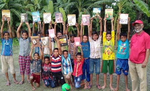 কাউখালীতে ক্ষুদে শিক্ষার্থীদের ফুটবল প্রতিযোগিতা