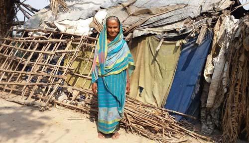 ভাতা মেলেনি ৭৫ বয়সী জয়নবের, আহার জোটে ভিক্ষায়