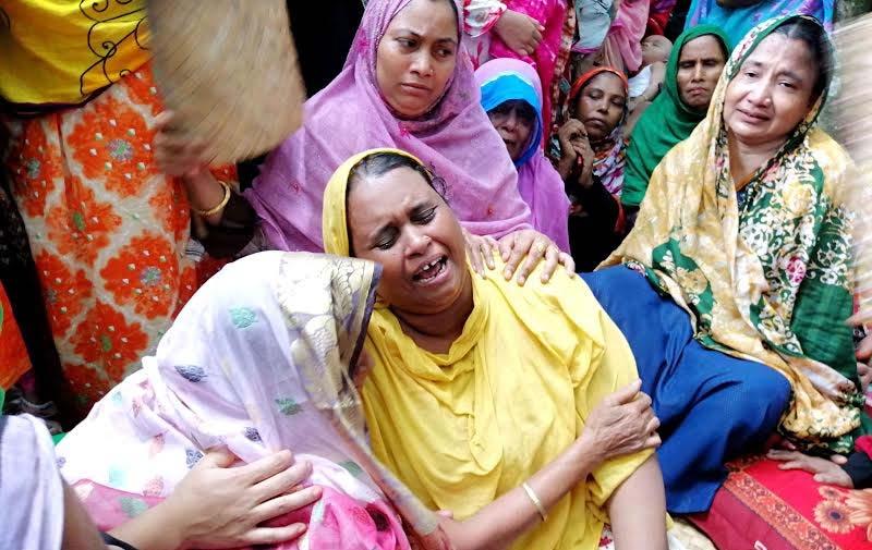 টঙ্গীতে নিহত স্কুলছাত্র মুন্নার গ্রামের বাড়ি বাউফলে শোকের মাতম