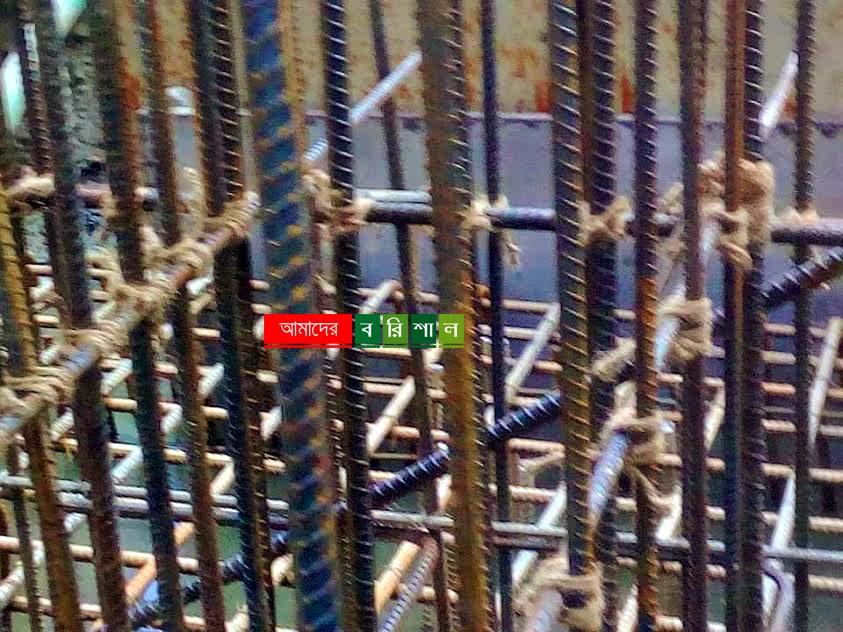 বেতাগীতে গার্ডার ব্রিজ নির্মাণে গুনার পরিবর্তে পাটের সুতা