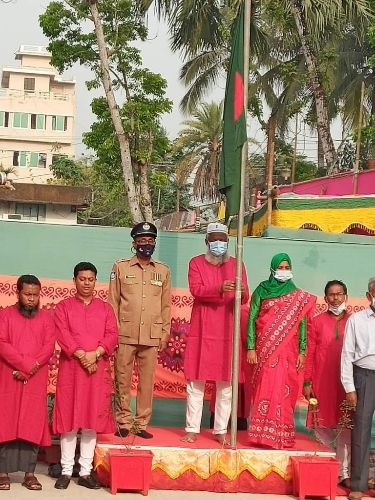 কাউখালীতে স্বাধীনতার সুবর্ণজয়ন্তী উদযাপন