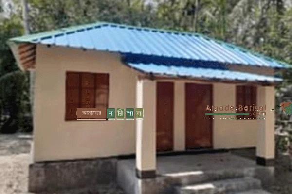 মুজিববর্ষে উপহার হিসেবে  গলাচিপায় সেমিপাকা ঘর পেল ৩৭২ পরিবার